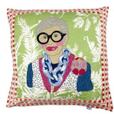 Iris Apfel Pillow