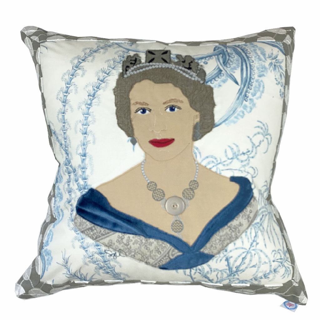 Queen Elizabeth II Pillow