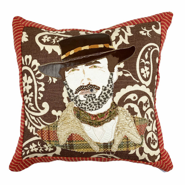 Clint Eastwood Pillow