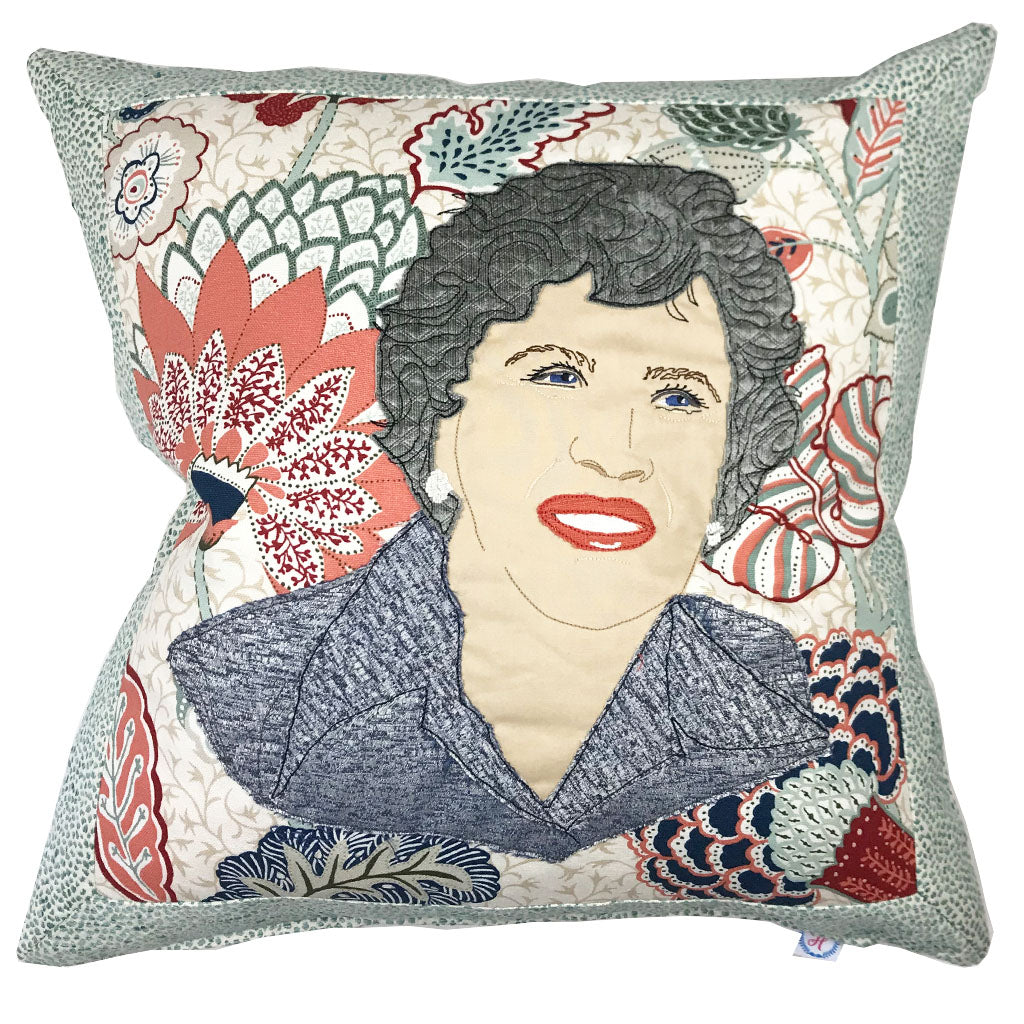 Julia Child Pillow