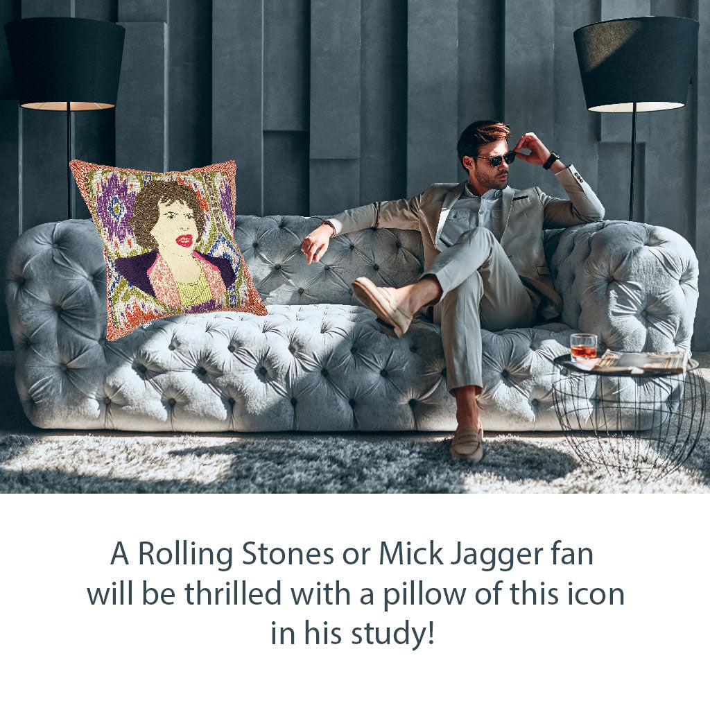 Mick Jagger Pillow