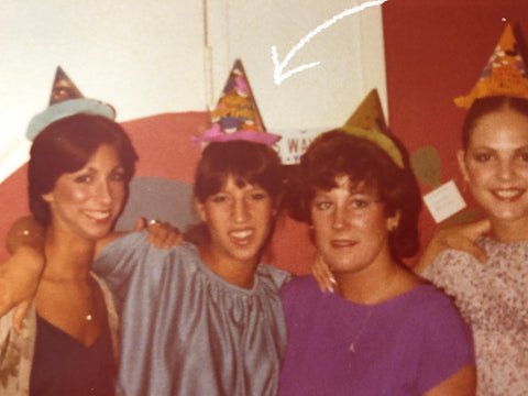 Bobbi's friends at a young age in the late 1970s