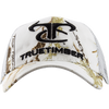 0404 TrueTimber Logo MC2 Snow Hat w/ White Mesh Snap Back