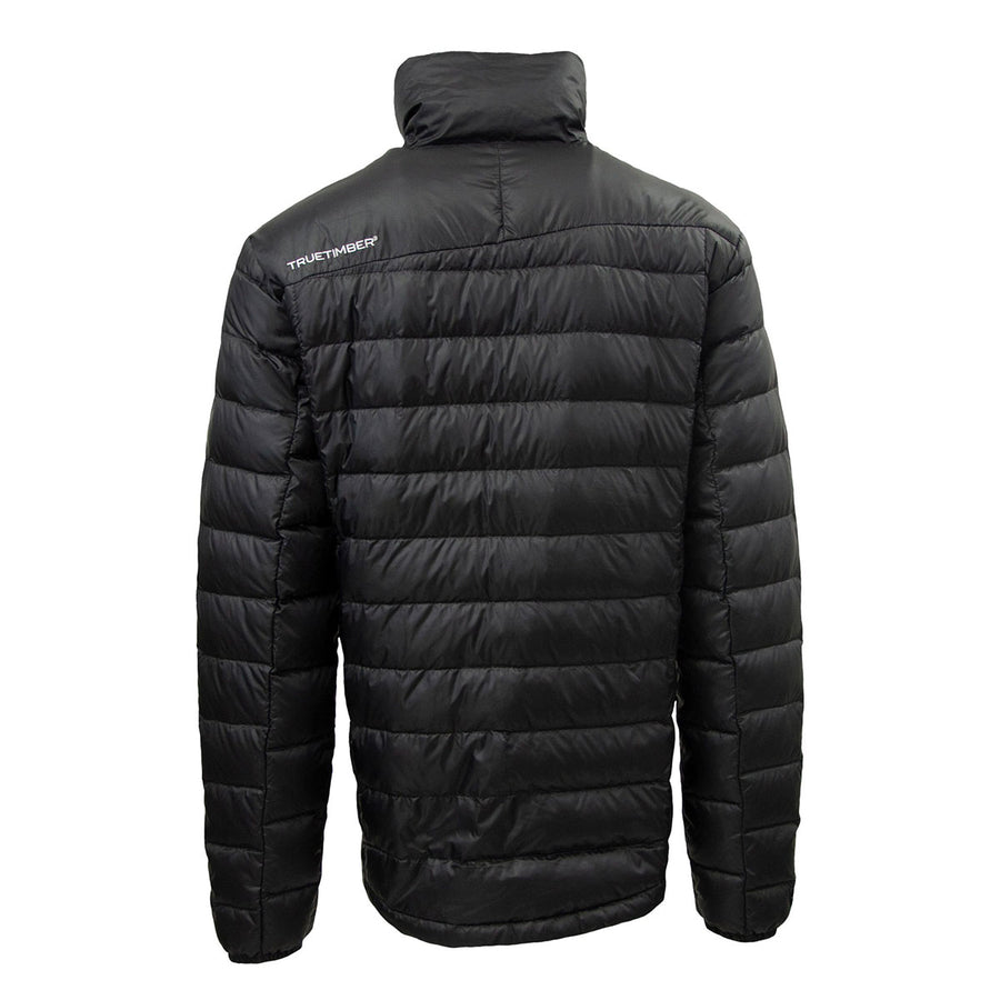 Men's Lightweight Packable Down Jacket - Black