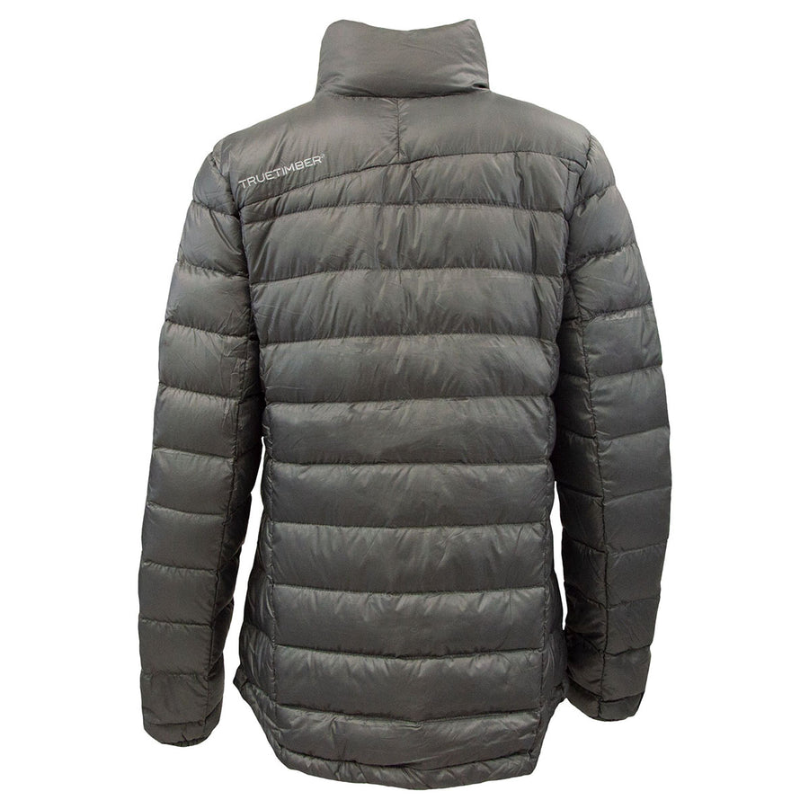 Ladies Lightweight Packable Down Jacket - Charcoal