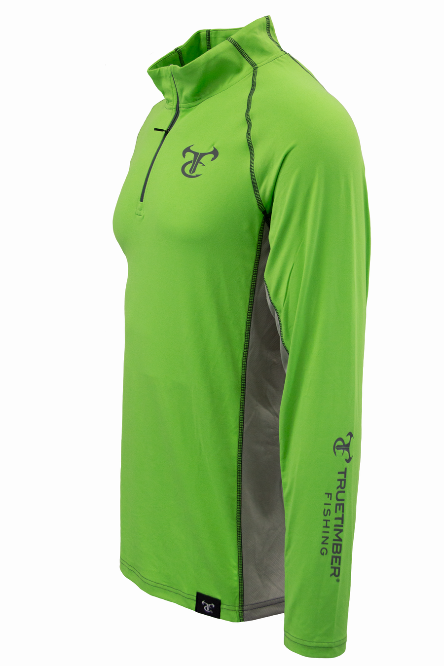 DeepLedge 1/4 Zip - Green Flash / Drizzle