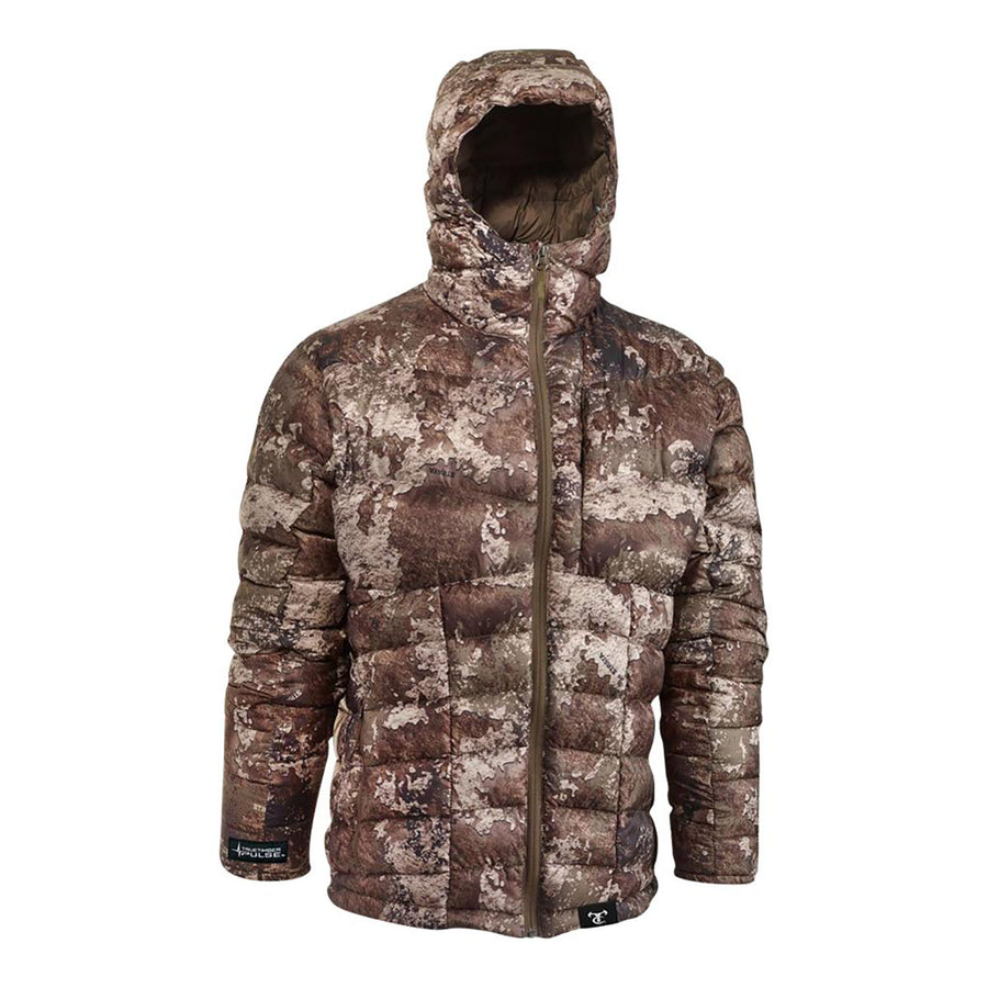 Lightweight Packable Down Hooded Jacket -Strata