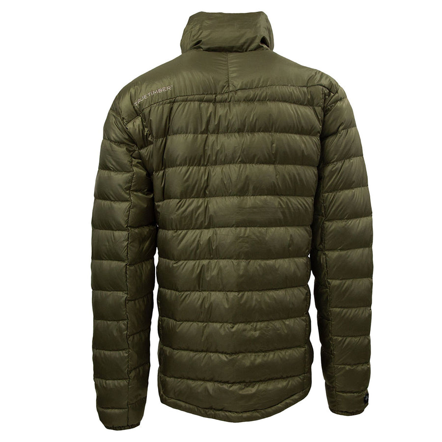 Men's Lightweight Packable Down Jacket - OD Green