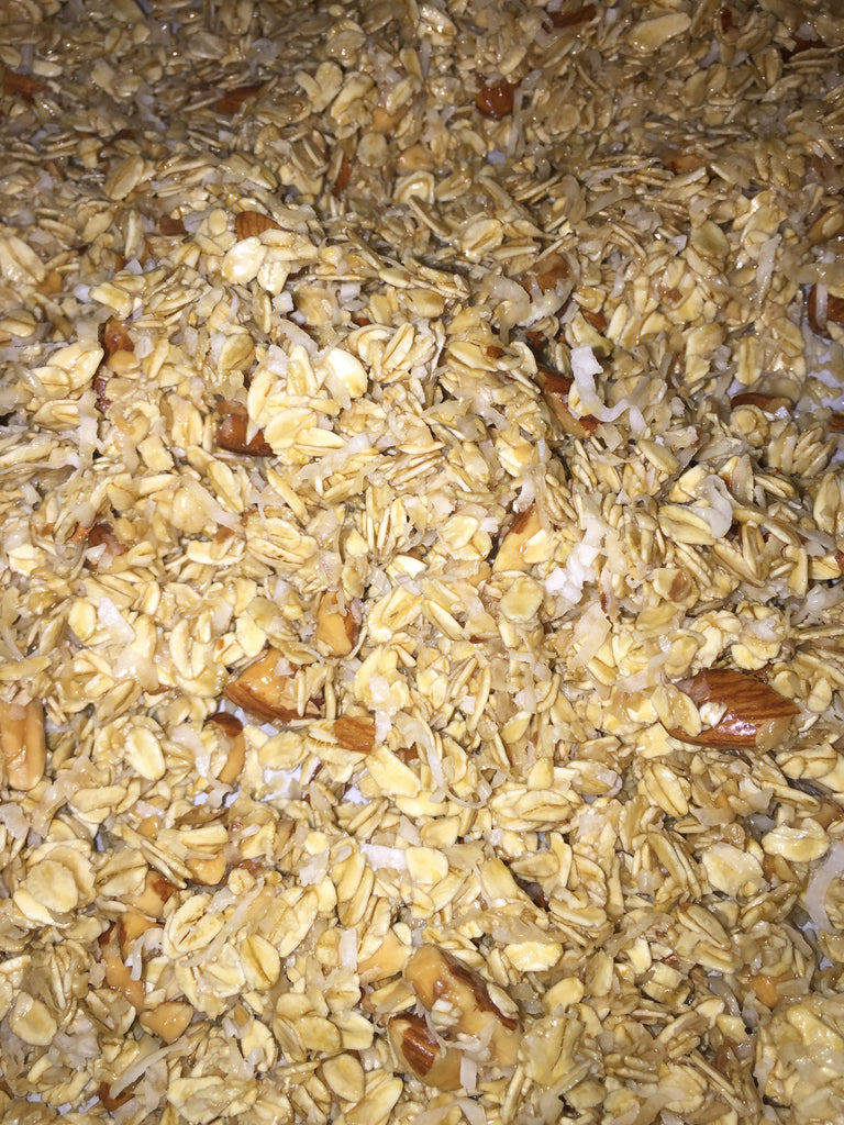 Michelle's Healthy Homemade (Gluten Free) Granola Recipe