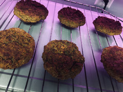 Bulk Cooked Veggie Patty Burgers Save Time Gain Health