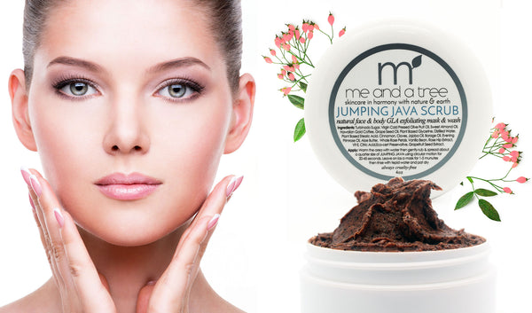 Jumping Java Face Body Scrub