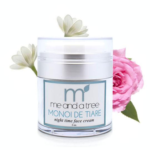 Monoi de Tiare Gentle Night Time Face Cream
