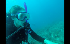Michelle Scuba Diving Florida Barrier Reef