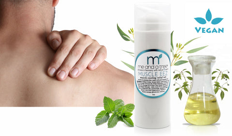 Muscle Eez Natural Muscle & Joint Pain Relief Recovery Cream