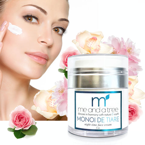 Best Monoi De Tiare Face Cream Night Time