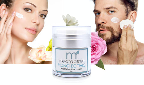 Monoi Age Defying Natural Nightime Face Cream