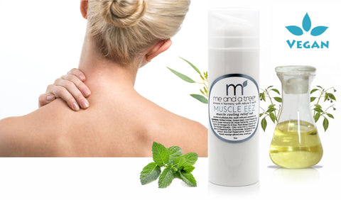 Muscle eez Cooling Relief Massage Rub - me and a tree skincare