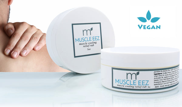 Natural Muscle eez Muscle and Joint Cooling Rub