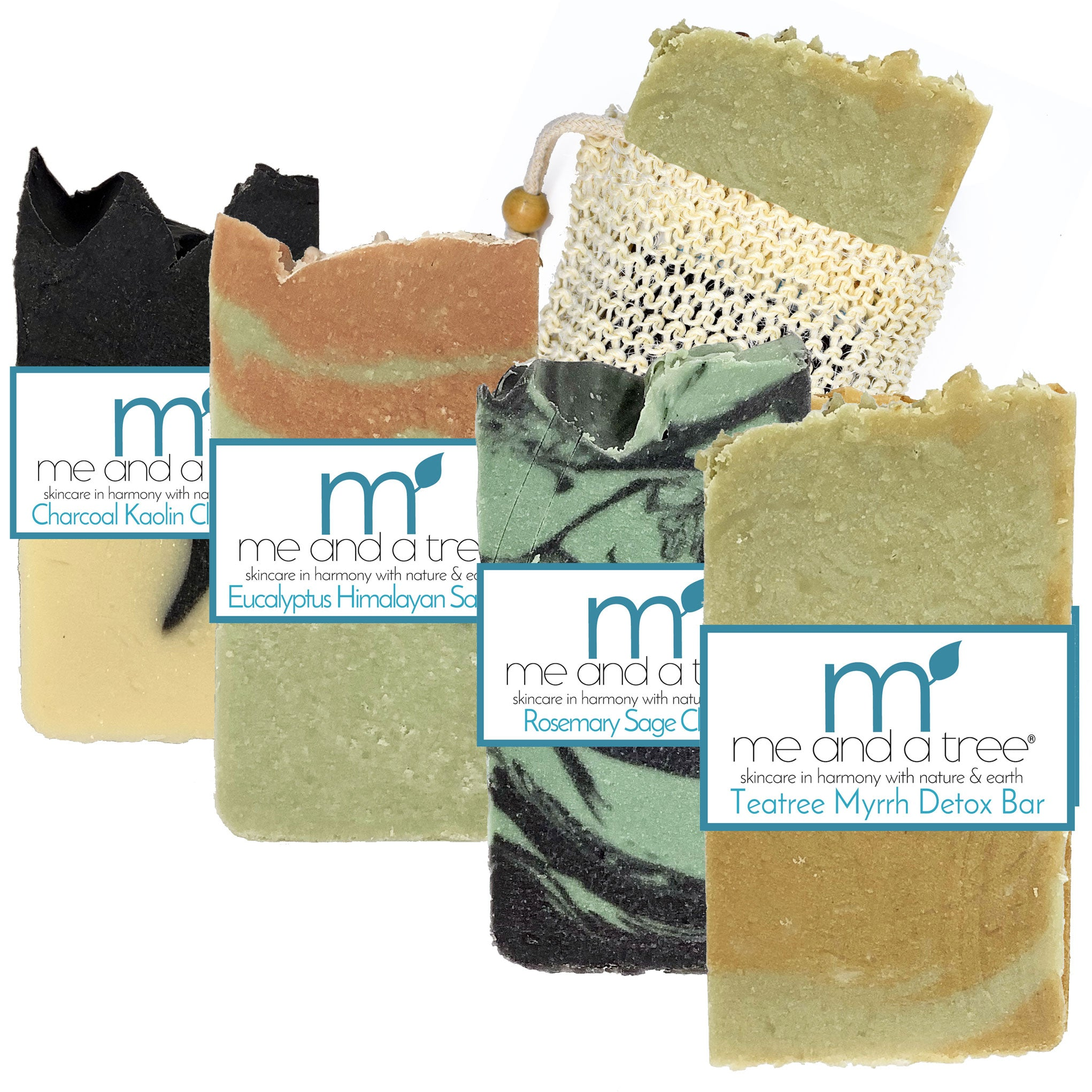 Best Natural Skin Care Antibacterial  Soap Bar Gift Set For Men & Women
