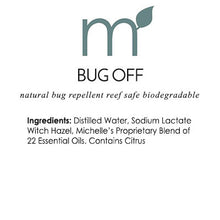 Bug Off Natural Repellent Spray Deet Free Reef Safe - me and a tree skincare