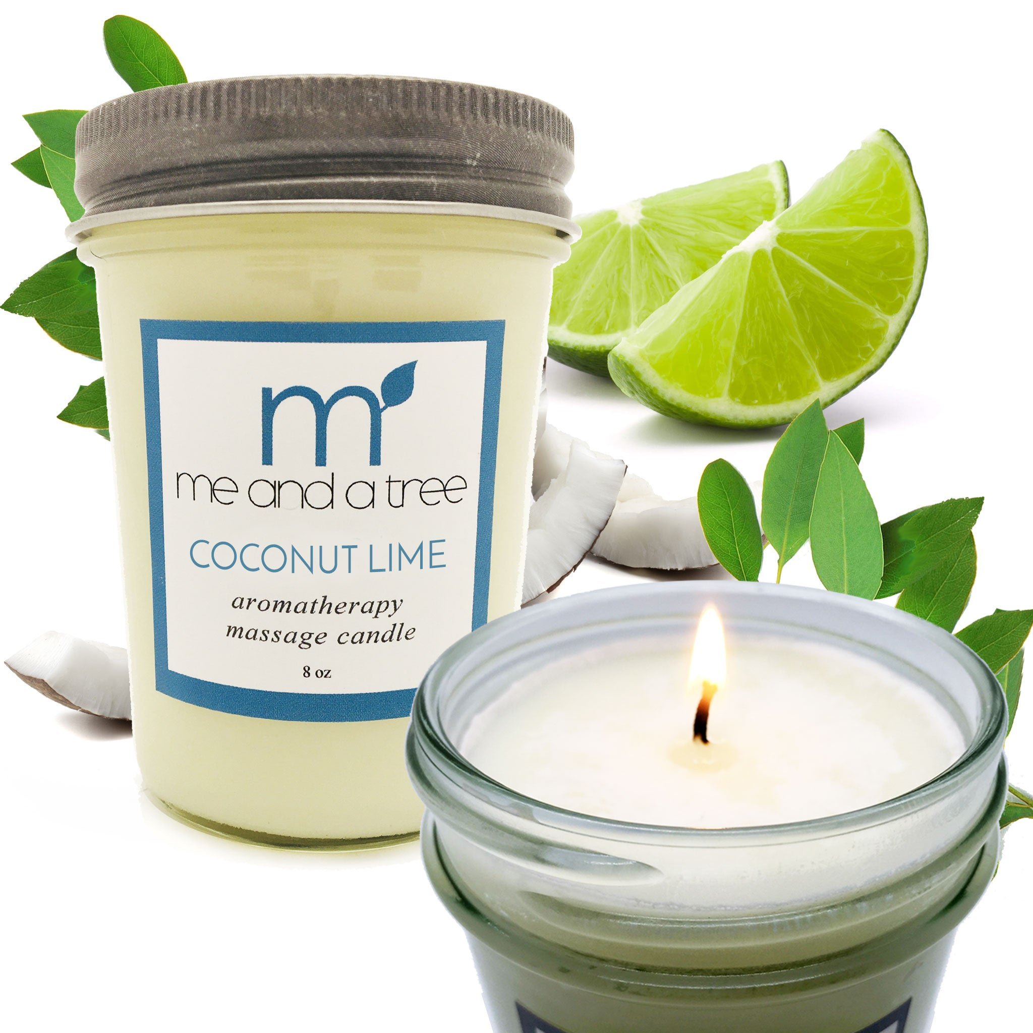 Best Natural Best Soy Candle Coconut Lime
