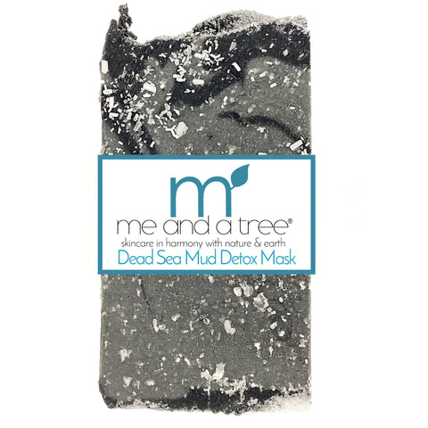 Dead Sea Mud Mask Detox Natural Artisan Handcrafted Face & Body Vegan Bar Soap