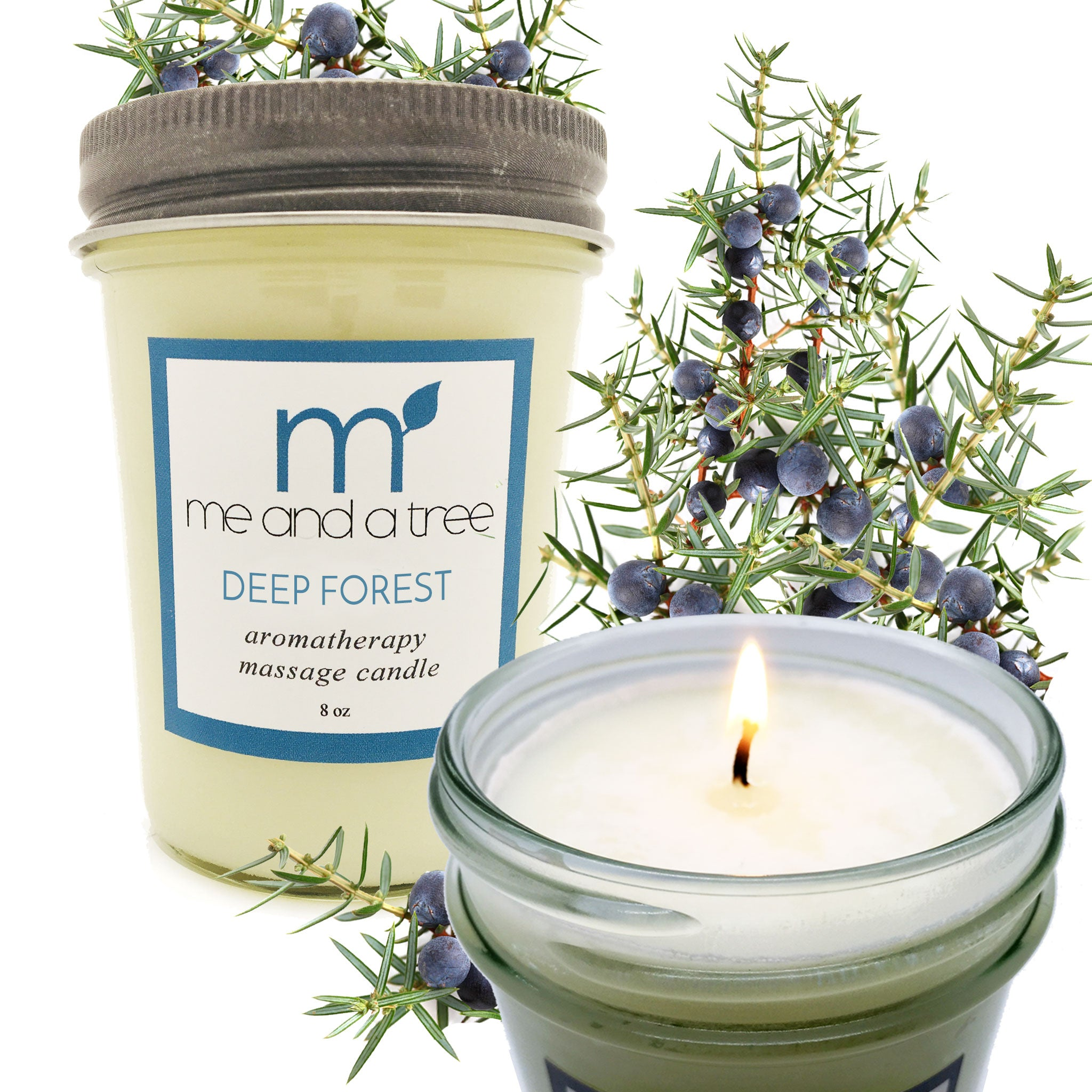 Best Natural Soy Candle Deep Forest Sweet Pine