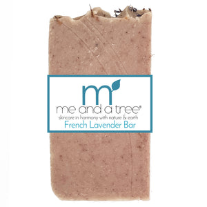 French Lavender Natural Artisan Handcrafted Face & Body Vegan Bar Soap