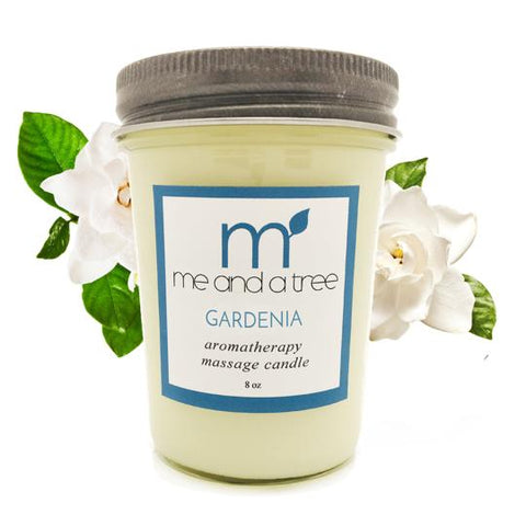 Gardenia Soy Candle - me and a tree skincare