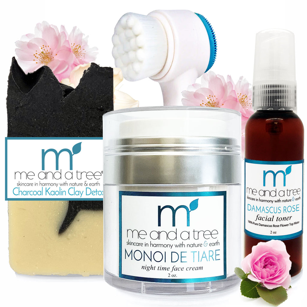 Best Natural Gentle Face Cleanse Monoi Gift Set