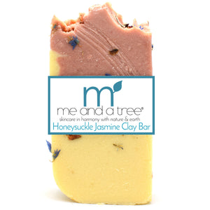 Best Natural Honeysuckle Jasmine Clay Bar Soap For Men & Women