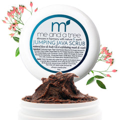 Jumping Java Natural GLA Facial & Body Scrub Mask & Wash is a unisex exfoliator polish