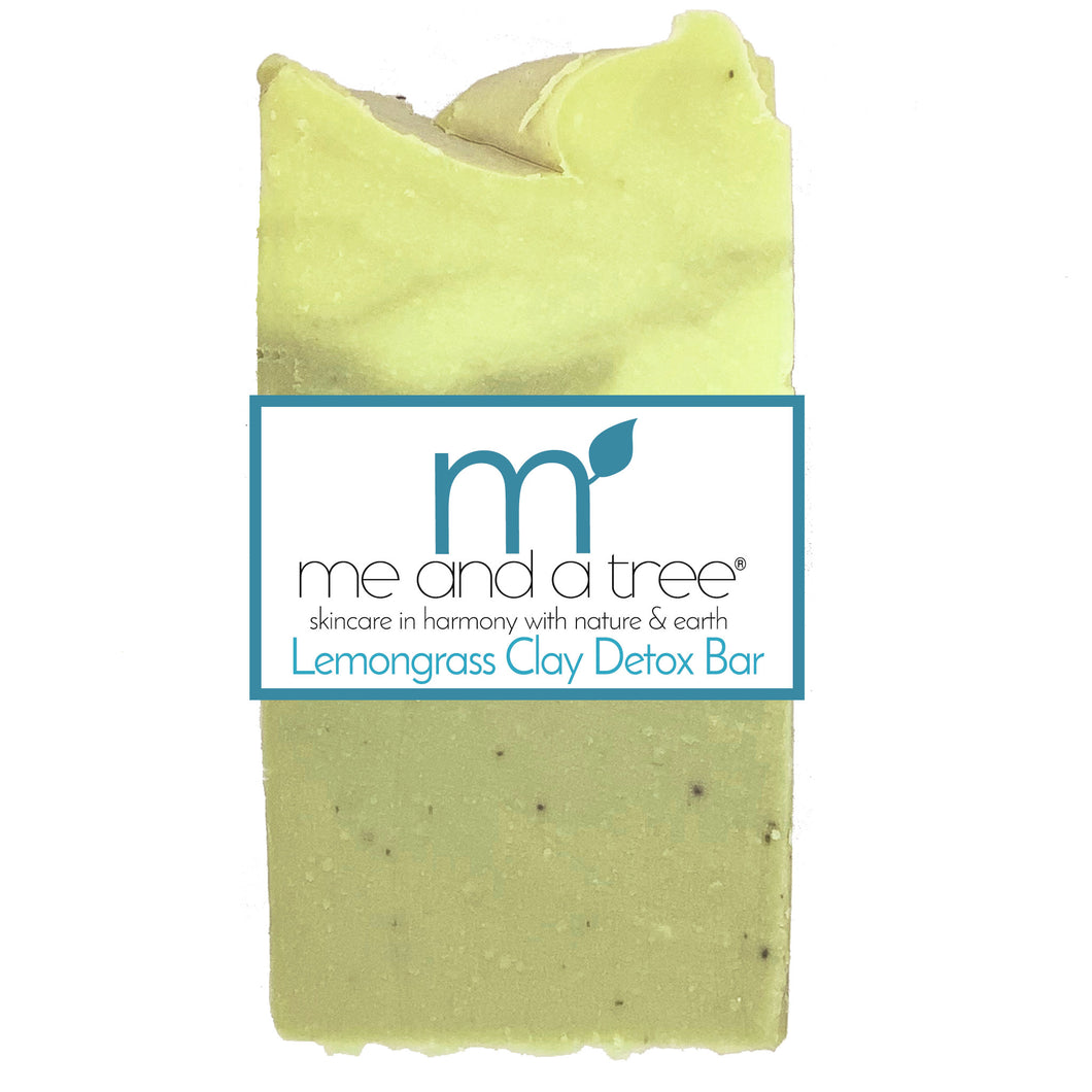 Lemongrass French Clay Natural Vegan Soap - me and a tree skincare
