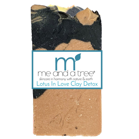 Lotus In Love Clay Bar Soap - me and a tree skincare