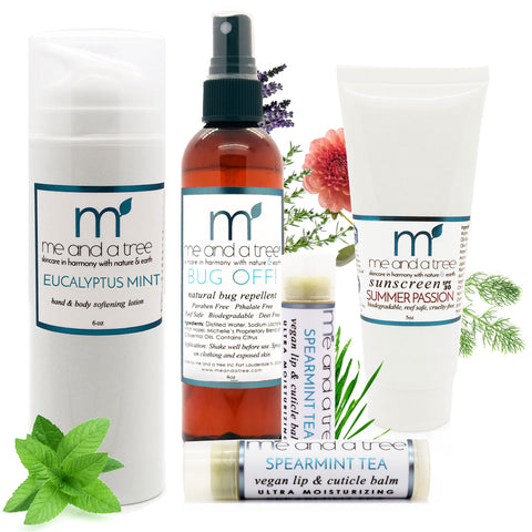 Mens Moisture & Protect Natural Skincare Gift Set - me and a tree skincare