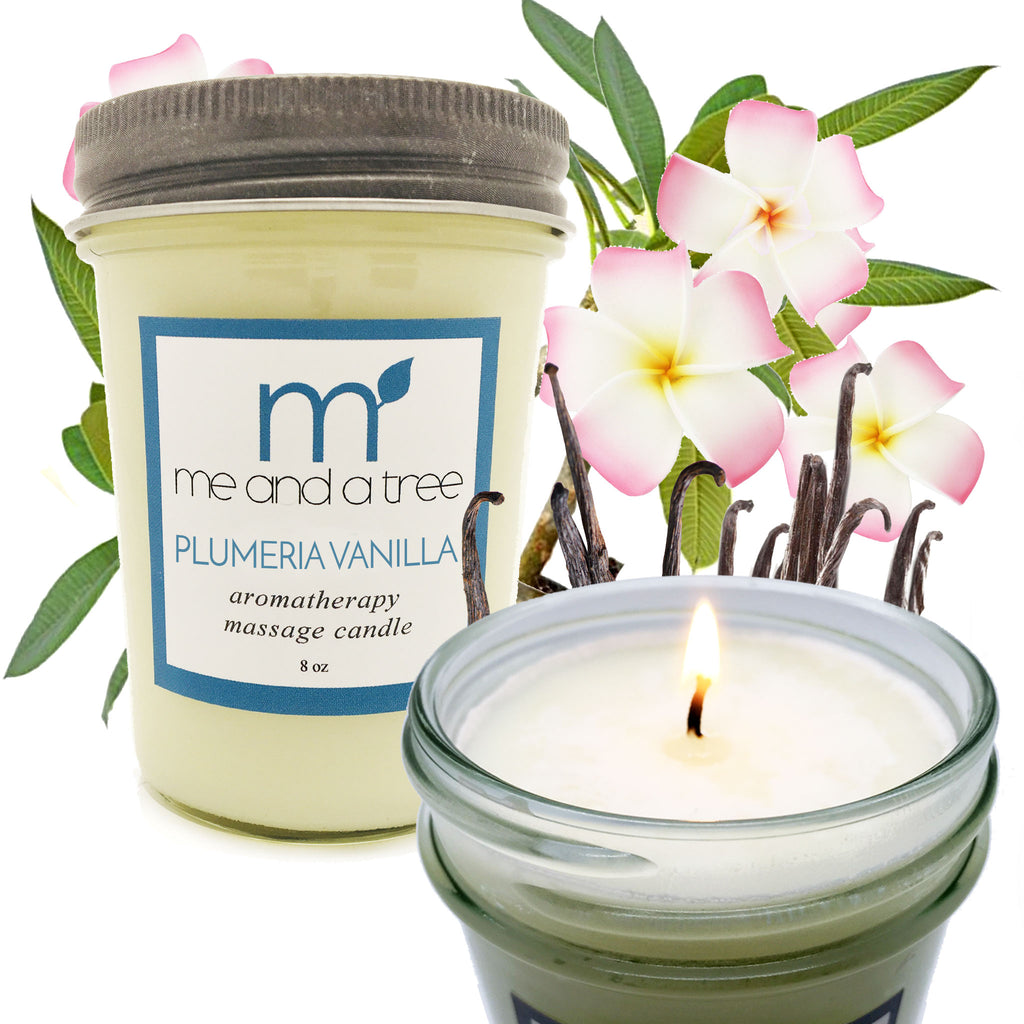 Best Natural Holiday Soy Candles Plumeria Vanilla
