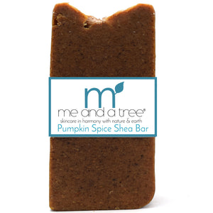Best Natural Pumpkin Spice Shea Bar Soap For Men & Women