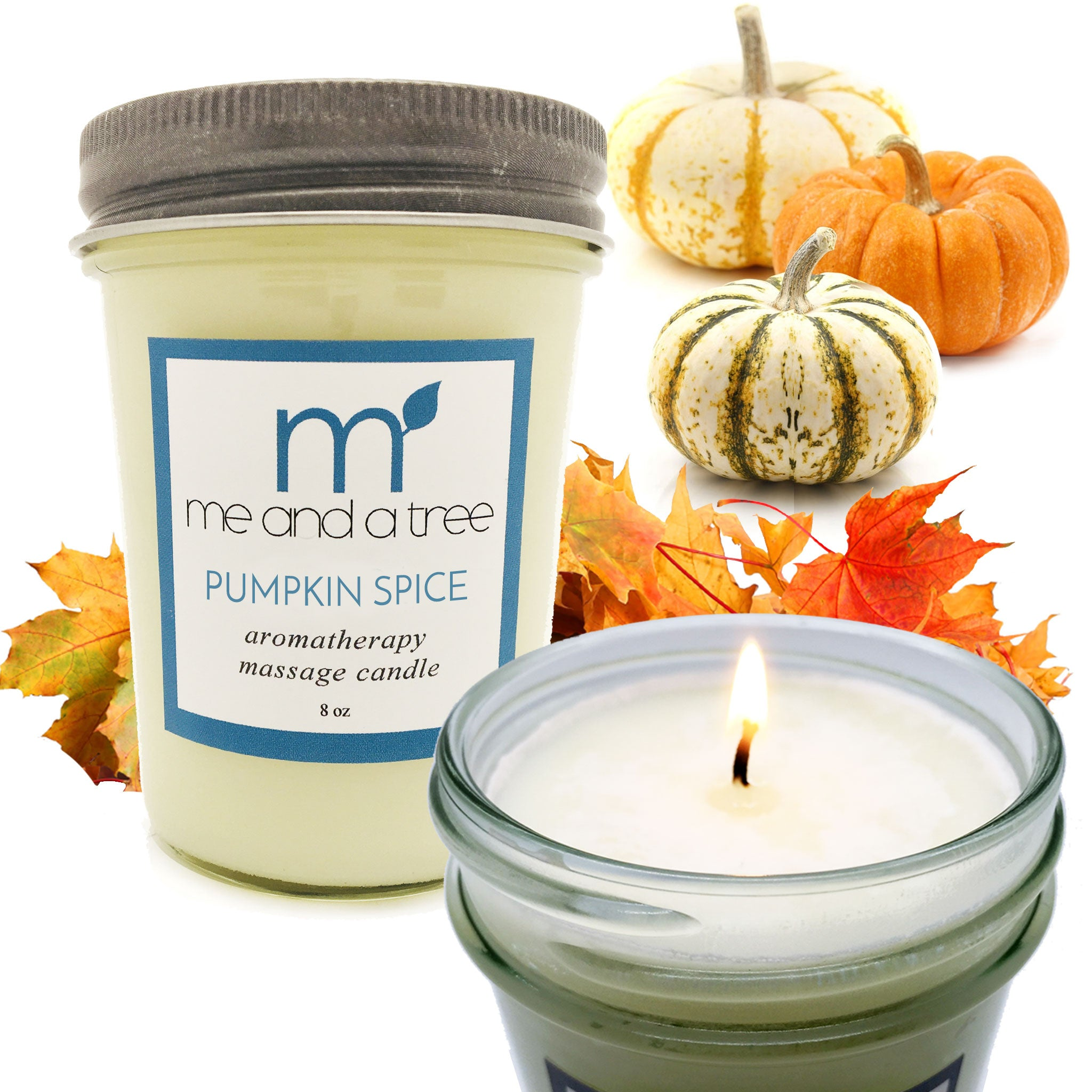 Best Pumpkin Christmas Thanksgiving Holiday Soy Candle Gift Set