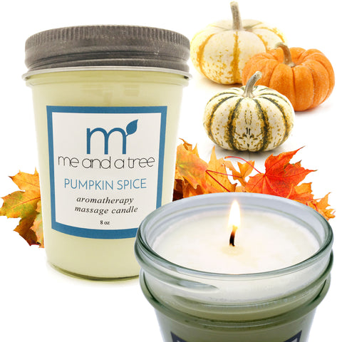 Pumpkin Spice Soy Candle - me and a tree skincare