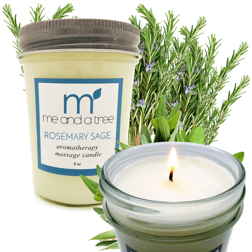Best Natural Holiday Soy Candles Rosemary Sage