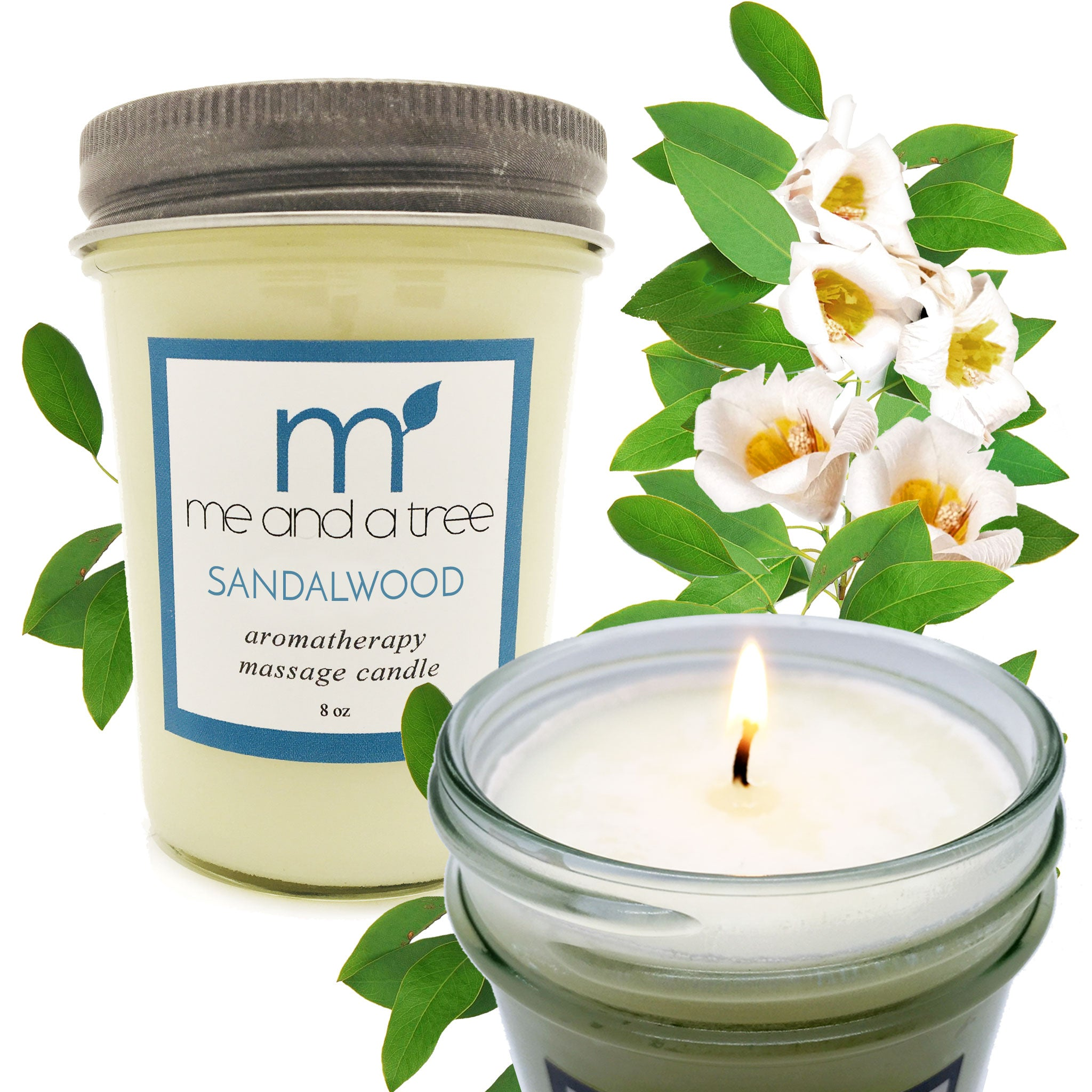 Best Natural Meditation Relaxing Soy Candle Sandalwood