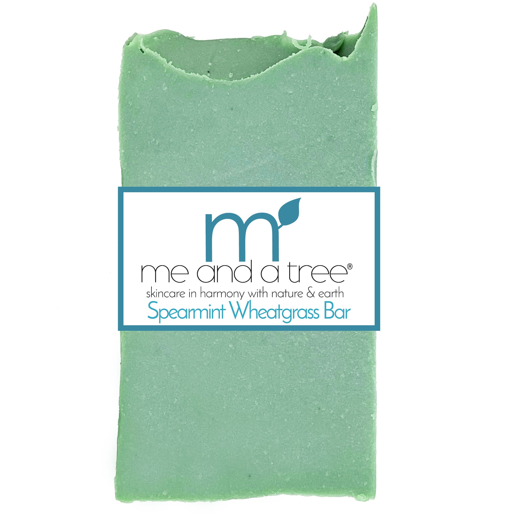 Spearmint Wheatgrass  Bar Soap - me and a tree skincare