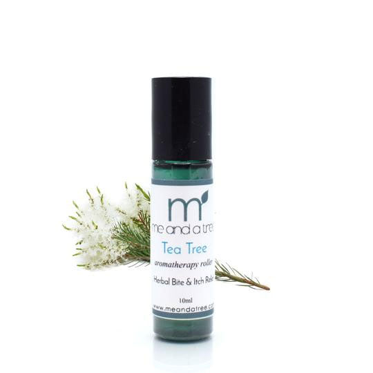 Tea Tree Itch Stick Essential Oil Roller 10ml - me and a tree skincare