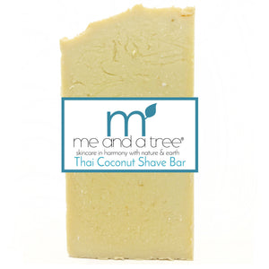 Thai Coconut Bar Soap - me and a tree skincare