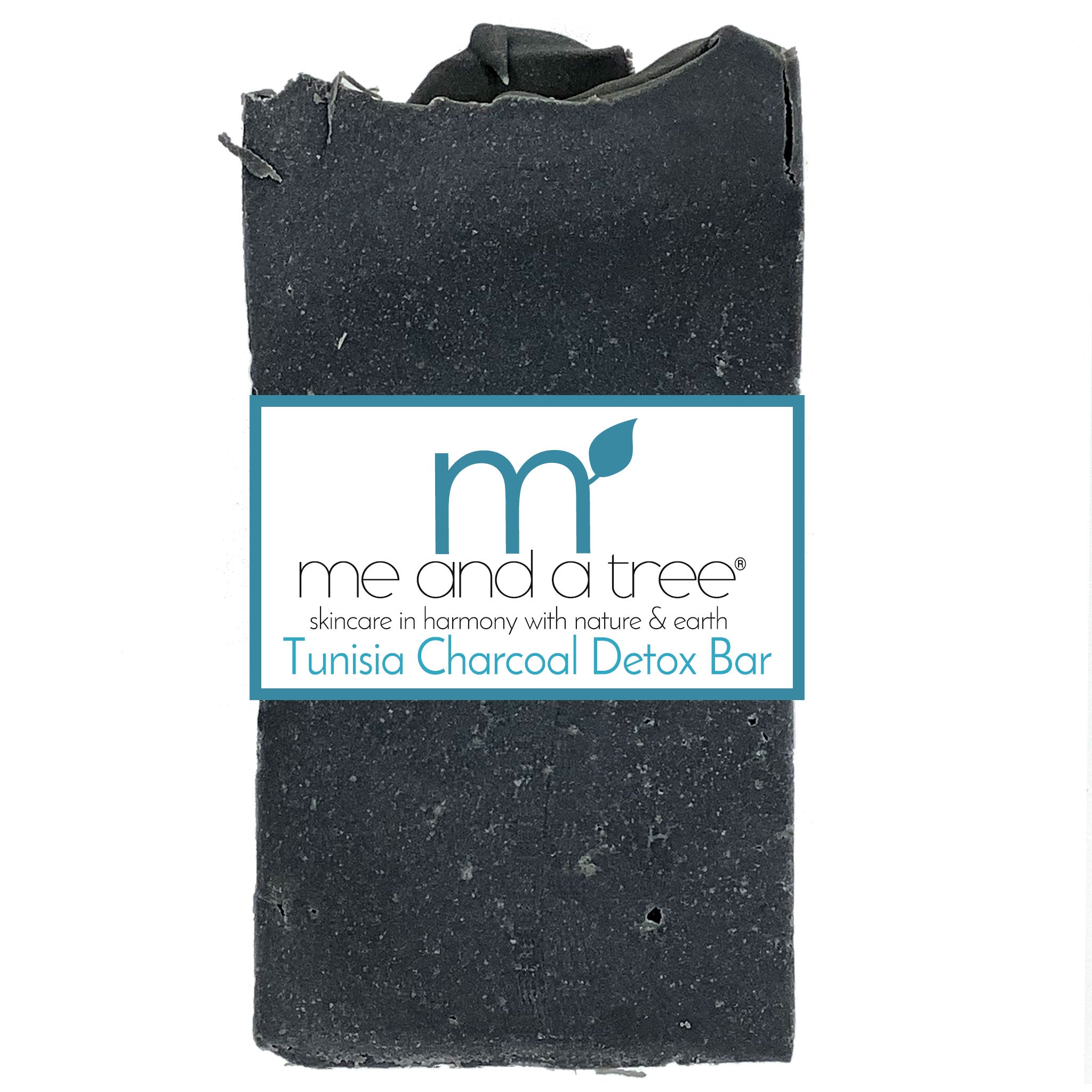 Tunisia Charcoal Detox Bar Soap - me and a tree skincare