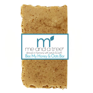 Best Natural Bee My Honey & Oatmeal Soap Bar For Men & Women