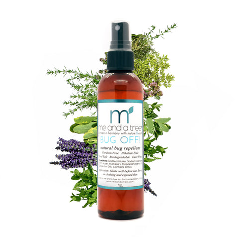 Best Natural Organic Bug Off Mosquito Repellent Spray For Body Face