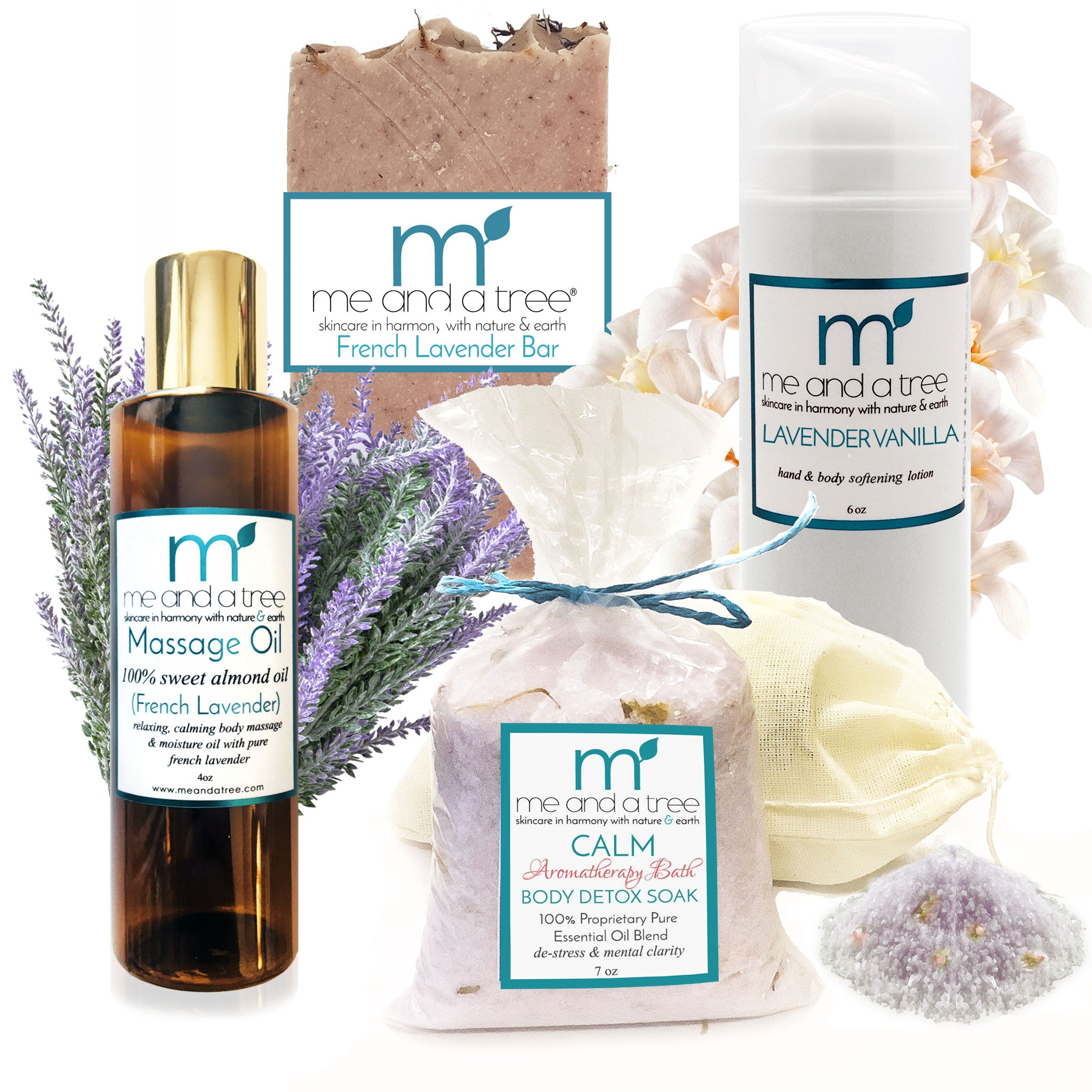 Best Calming Massage Spa Skin Care Gift Set
