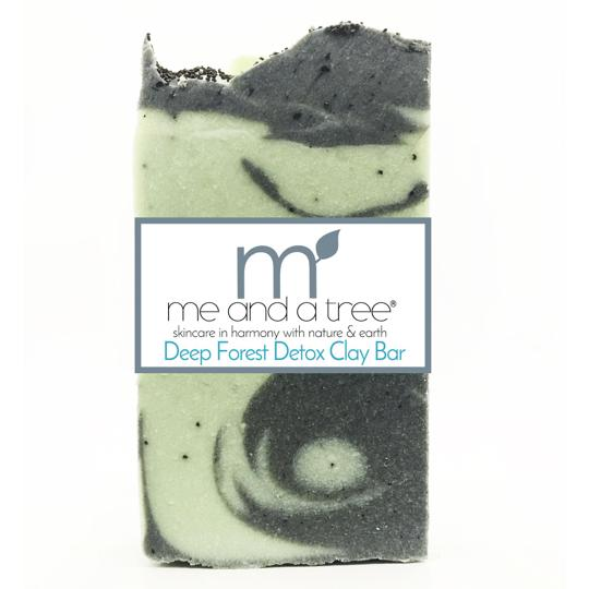 Deep Forest Detox Clay Bar Soap Mask - me and a tree skincare