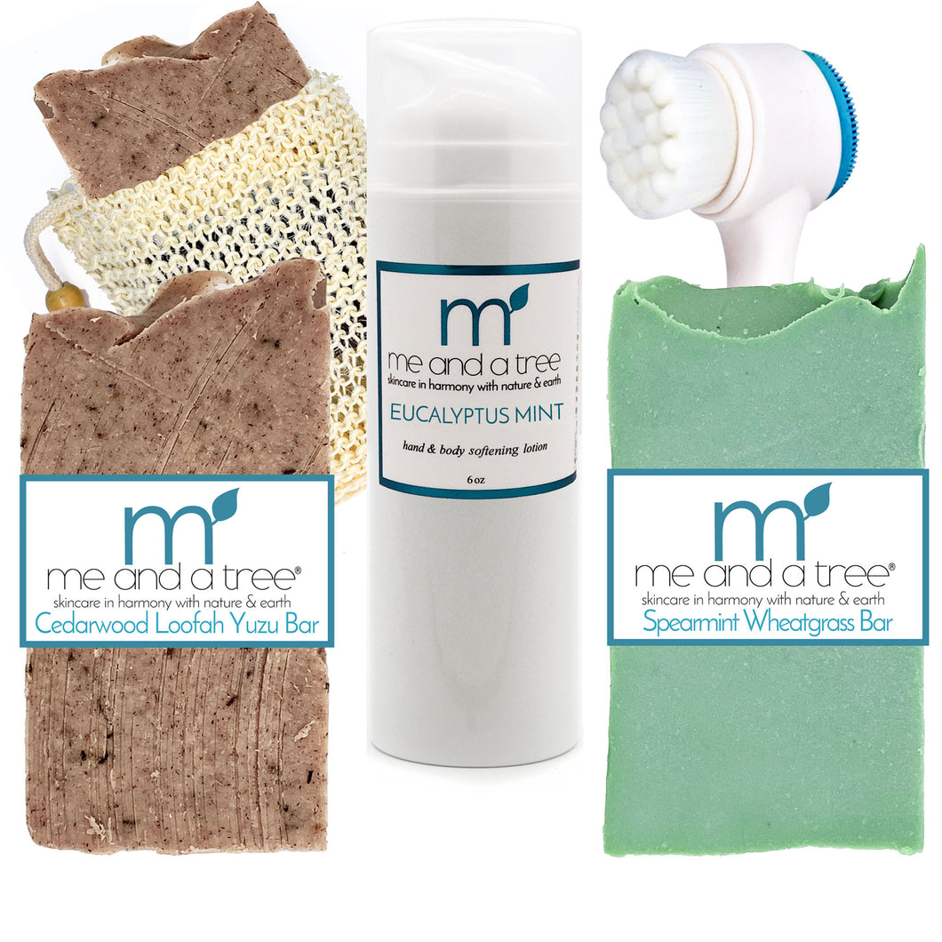 Grooming Natural Skincare Gift Set - me and a tree skincare